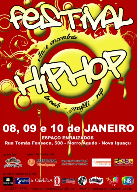 Flyer do VIII ENCONTRÃO